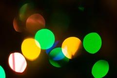 Weihnachten-bokeh Hintergrund Lizenzfreies Stockbild