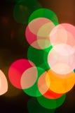 Weihnachten-bokeh Hintergrund Stockfotografie