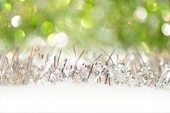 Weihnachten-bokeh Hintergrund Stockfoto