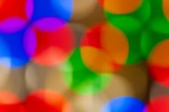Weihnachten-bokeh Hintergrund Stockbild
