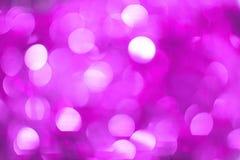 Weihnachten-Bokeh-Hintergrund: Vibrierendes Veilchen 2 Auf lagerbild Stockfotos
