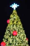 Weihnachten-bokeh Licht stockbild
