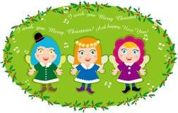 Weihnachten Carol des Engels Lizenzfreie Stockfotografie