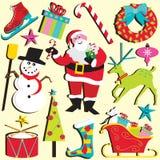 Weihnachten Clipart Lizenzfreie Stockfotografie