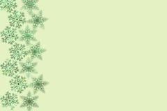 Weihnachten-copyspace Design mit Schneeflockenmuster Stockbild