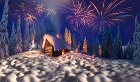 weihnachten in den karpaten stockbilder bild 36078994. Black Bedroom Furniture Sets. Home Design Ideas