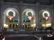 Weihnachten an der Anschluss-Station Stockfoto