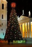 Weihnachten in der Stadt Stockfotografie