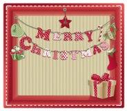Weihnachten-eco Hintergrund Lizenzfreies Stockfoto