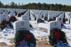 Weihnachten eines Veterans Lizenzfreies Stockfoto