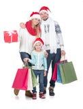 Weihnachten Family Lizenzfreies Stockfoto