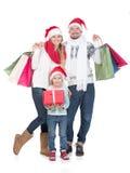 Weihnachten Family Lizenzfreie Stockbilder