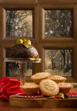 Weihnachten Fayre stockbilder