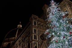 Weihnachten in Florenz Stockfotos