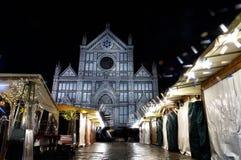 Weihnachten in Florenz II Stockfotografie