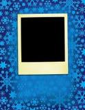 Weihnachten gealtertes Polaroid Lizenzfreie Stockfotos