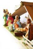 Weihnachten - Geburt Christisszene. Lizenzfreies Stockbild