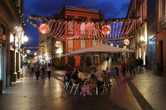 Weihnachten Gran Canaria Lizenzfreies Stockbild