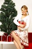 Weihnachten Gril Lizenzfreie Stockfotos