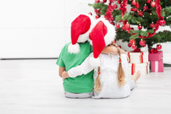 Weihnachten ist ehrfürchtig lizenzfreies stockbild