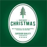 Weihnachten ist Emblemthema Dekorationselemente Lizenzfreie Stockfotografie