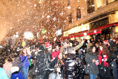 Weihnachten in Istanbul, die Türkei Stockfotos