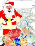Weihnachten kündigen an Lizenzfreies Stockfoto