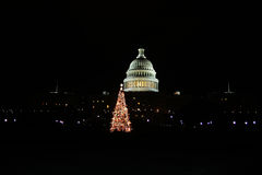 Weihnachten am Kapitol Stockfotografie