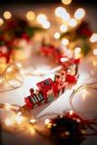 Weihnachten kommt Lizenzfreie Stockbilder