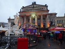 Weihnachten Konzerthaus Stockfotografie