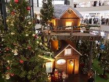 Weihnachten in Kuala Lumpur Lizenzfreies Stockfoto