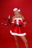 Weihnachten Martini Lizenzfreies Stockbild