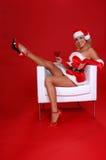 Weihnachten Martini lizenzfreie stockfotos