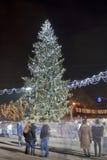 Weihnachten Moldau Stockbild