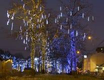 Weihnachten Moskau Stockfotos