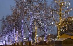 Weihnachten Moskau Stockbilder