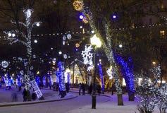 Weihnachten Moskau Lizenzfreie Stockfotos