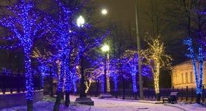 Weihnachten Moskau Lizenzfreies Stockbild