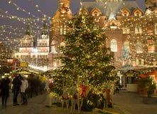 Weihnachten Moskau Lizenzfreie Stockfotografie