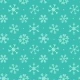 Weihnachten, nahtloser Musterhintergrund des Winters Stockfotos