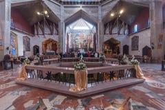 Weihnachten in Nazaret Stockfoto
