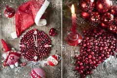 Weihnachten, neues Jahr ` s Karte Lizenzfreies Stockbild