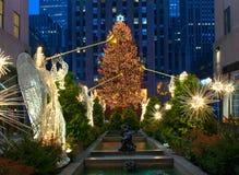 Weihnachten in New York lizenzfreies stockfoto