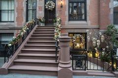 Weihnachten New York City Stockfotos