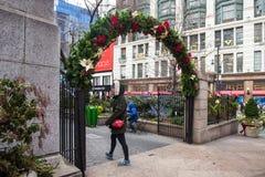 Weihnachten New York City Stockfotografie