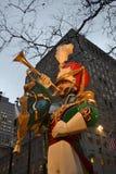Weihnachten in New York USA Stockbild