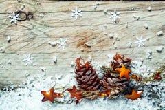 Weihnachten-Noel-Hintergrund Lizenzfreies Stockbild