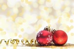 Weihnachten-ornements Lizenzfreie Stockbilder