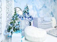 Weihnachten-photoscene, frohe Weihnachten stockfoto