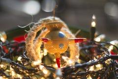 Weihnachten Piñata Stockfoto